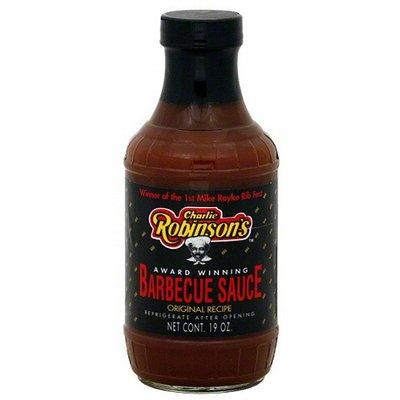 C.h. Robinson Charlie Robinson's Award Winning Original Recipe Barbecue Sauce, 19 oz, (Pack of 12)