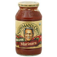Newman's Own Organic Marinara Sauce, 23.5 oz, (Pack of 12)