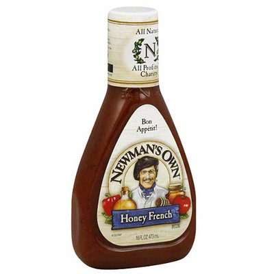 Newman's Own Honey French Dressing, 16 fl oz, (Pack of 6)