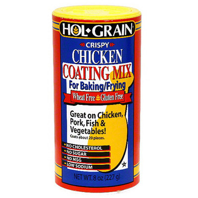 Hol Grain Hol-Grain Crispy Chicken Coating Mix, 8 oz, (Pack of 6)