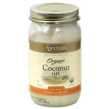 Spectrum Organic Coconut Oil, 14 oz (Pack of 6)