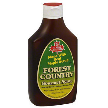 Forest Floor Forest Country Gourmet Syrup, 16 fl oz, (Pack of 12)