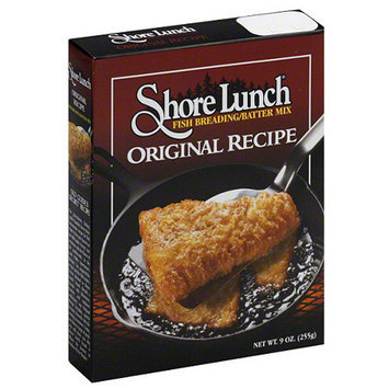 Shore Lunch Original Recipe Fish Breading/Batter Mix, 9 oz, (Pack of 12).