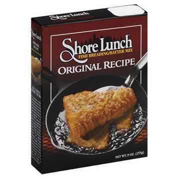 Shore Lunch Original Recipe Fish Breading/Batter Mix, 9 oz, (Pack of 12).