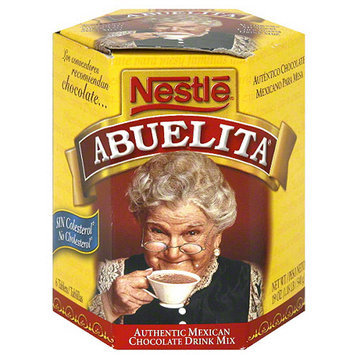 Nestlé Abuelita Authentic Mexican Chocolate Drink Mix, 19 oz (Pack of 12)