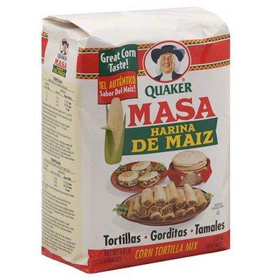 Tacos & Masa Quaker Masa Harina De Maiz Corn Tortilla Mix, 4.4 lb (Pack of 8)