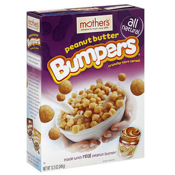 Mothers Mother's Peanut Butter Bumpers Crunchy Corn Cereal, 12.3 oz, (Pack of 7)
