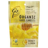 Go Naturally Honey Lemon Organic Hard Candies, 3.5 oz (Pack of 6)