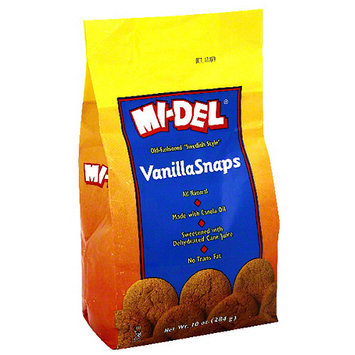 Midel MI-DEL Vanilla Snaps Cookies, 10 oz (Pack of 12)