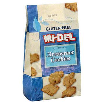 Midel MI-DEL Gluten-Free All Natural Arrowroot Animal Cookies, 8 oz (Pack of 12)
