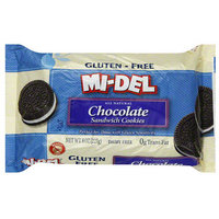 Midel MI-DEL Gluten-Free Chocolate Sandwich Cookies, 8 oz (Pack of 12)