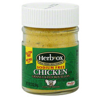 Herb-Ox Sodium Free Chicken Granulated Bouillon, 3.3 oz, (Pack of 12)