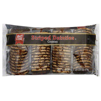 Rippin Good Rippin' Good Striped Dainties Cookies, 20.25 oz, (Pack of 12)