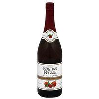 Kristian Regale Peach Sparkling Lingonberry-Apple Juice Beverage, 25.4 fl oz, (Pack of 12)