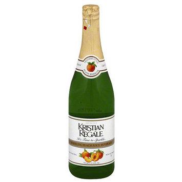Kristian Regale Sparkling Peach Juice Beverage, 25.4 fl oz, (Pack of 12)