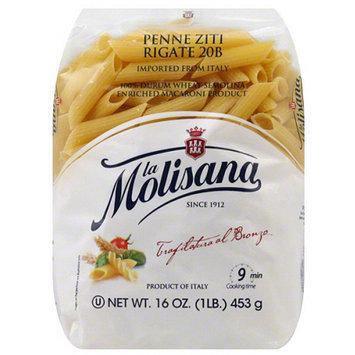 La Morenita La Molisana Penne Ziti Rigate Pasta, 16 oz, (Pack of 12)