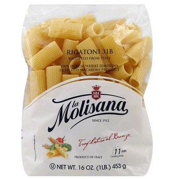 La Morenita La Molisana Rigatoni Pasta, 16 oz, (Pack of 12)