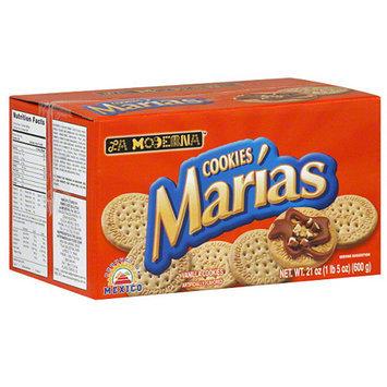 La Moderna Marias Vanilla Cookies, 21 oz, (Pack of 12)