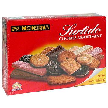 La Moderna Surtido Cookies Assortment, 16 oz, (Pack of 10)