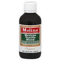 Milo Molina Original Mexican Vanilla Blend, 4.03 fl oz, (Pack of 12)