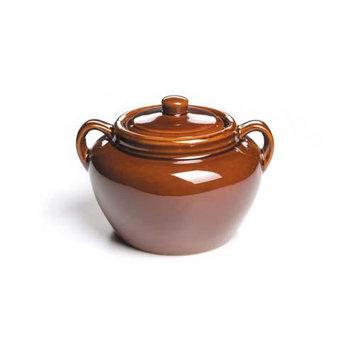 Fox Run Craftsmen Ceramic Oval Bean Pot