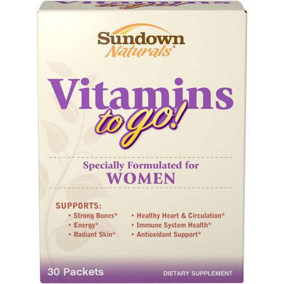 Sundown Naturals Women's Vitamins To Go - 30 Daily Packets