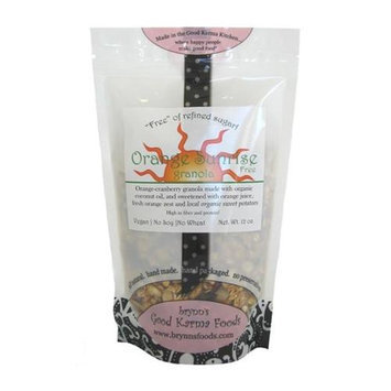 Brynns Good Karma Foods 030915414746 Orange Sunrise Granola Pack of 3