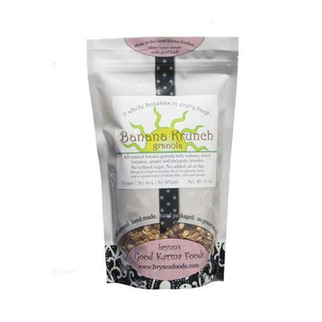 Brynns Good Karma Foods 030915414807 Banana Krunch Granola Pack of 3