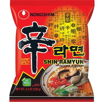Nongshim Shin Ramyun Noodle Soup, 4.2 oz, 10 count