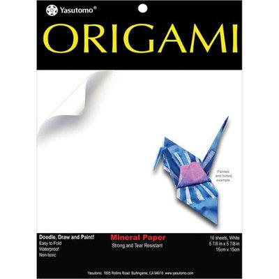 Fold 'Ems Origami Paper 5.875 10/Pkg-Mineral White