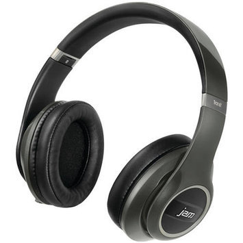 Jam - Transit City Wireless Over-the-ear Headphones - Gray