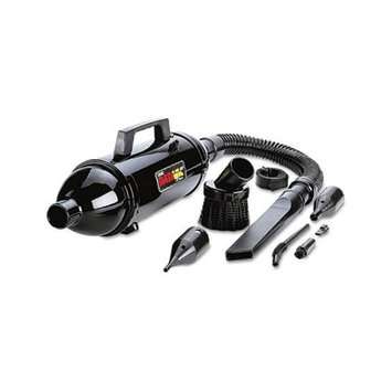 DataVac Steel Vacuum/Blower w/Accessories, 3 lbs, Black