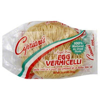 Cipriani's Ciprianis Angel Hair Egg Vermicelli Pasta, 11.5 oz, - Pack of 12