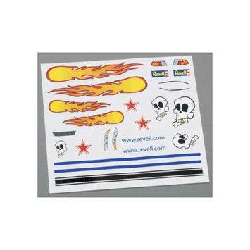 Revell RMXY9629 Pinewood Derby Peel & Stick Decals C