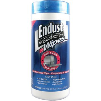 Endust Anit-Static Pop Up Wipes