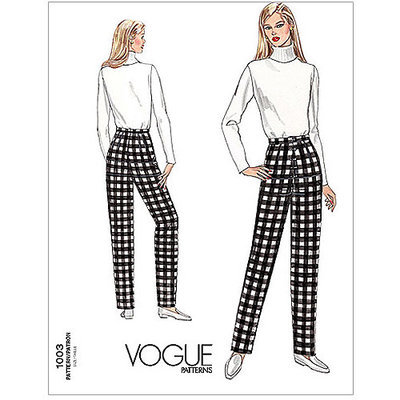 Vogue Pattern Misses' Fitting Shell, (10)