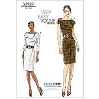 Vogue Pattern Misses' Dress, (14, 16, 18, 20, 22)