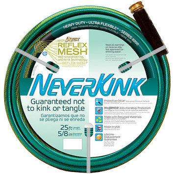 TEKNOR APEX 5/8 x 25' Heavy Duty NeverKink Self-Straightening Ultra Flexible Hose