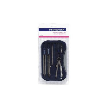 Staedtler 55909BK Compass Set In Plastic Case With Extension Bar/Pen Part