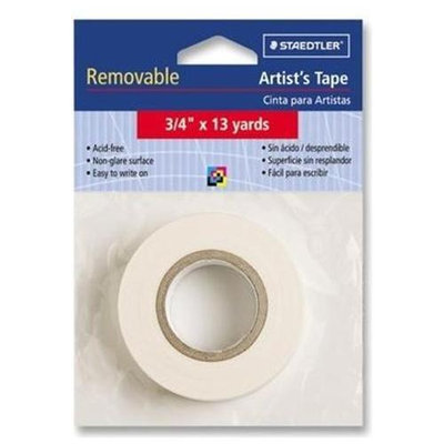 Staedtler, Inc. Artist's Tape, Nonglare, Removable, 3/4