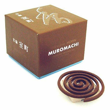 Shoyeido - Horin Incense Coils City of Culture - 10 Count