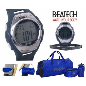 Conair Ovente BHS8000 Heart Rate Monitor with Chest Strap plus Russell Athletic 3pc Workout Set