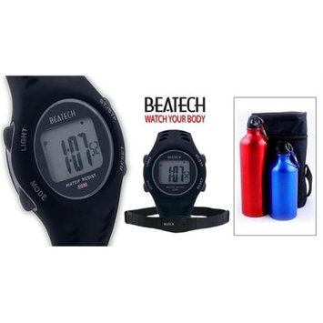 Conair Ovente BHS7000 Heart Rate Monitor with Chest Strap plus Finelife Aluminum Camping Bottle Set