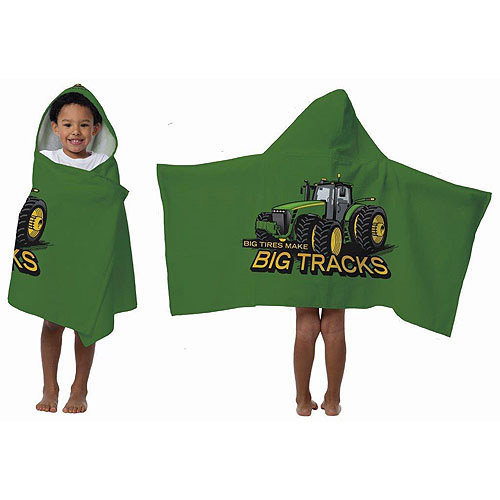 Asstd National Brand John Deere Hooded Towel