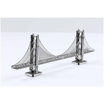Fascinations Metal Earth 3D Laser Cut Model - Golden Gate Bridge