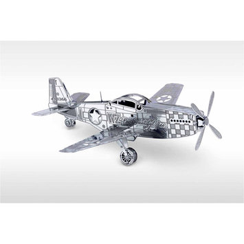 Fascinations Metal Works Mustang P-51 3D Laser Cut Model