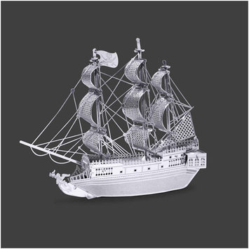 Fascinations Metal Earth Black Pearl Ship 3D Laser-Cut Metal Model