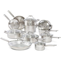 Groupeseb T-Fal Elegance Stainless Steel 18-piece Set