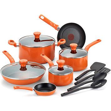 Groupe Seb T-Fal Excite Purple Non-stick 14-piece Cookware Set