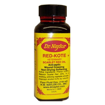 H.w. Naylor Dr. Naylor Red Kote Dauber 4 Ounce RKD